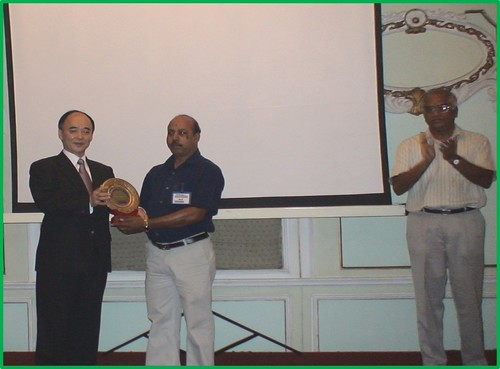 Best Supplier award received from Mitsuba Sical India (PVT) LTD for the year  2007-2008