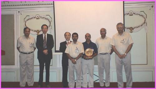 MSIL Best Supplier Award 2007