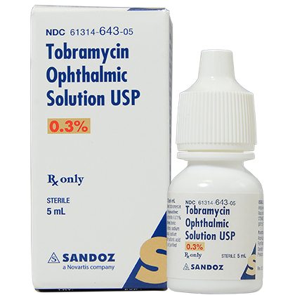 Tobramycine Sulphate Ophthalmic solution 0.3%