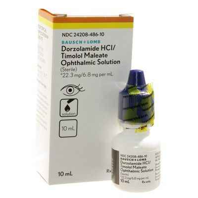 Dorzolamide and Timolol Ophthalmic solution