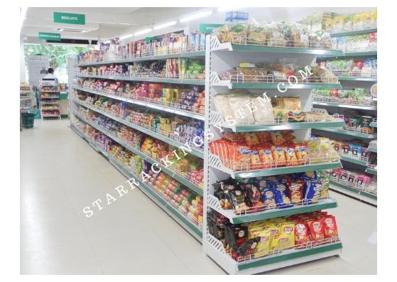 Retail Market Display Racks