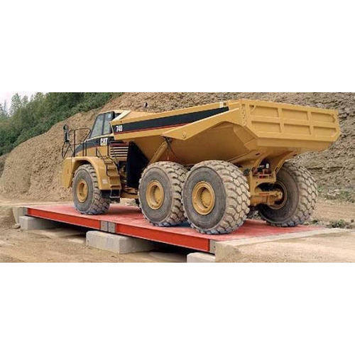 Semi Automatic Weighbridge