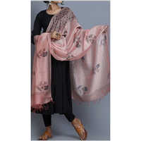 Straight Suit Set With Pants & Dupatta
