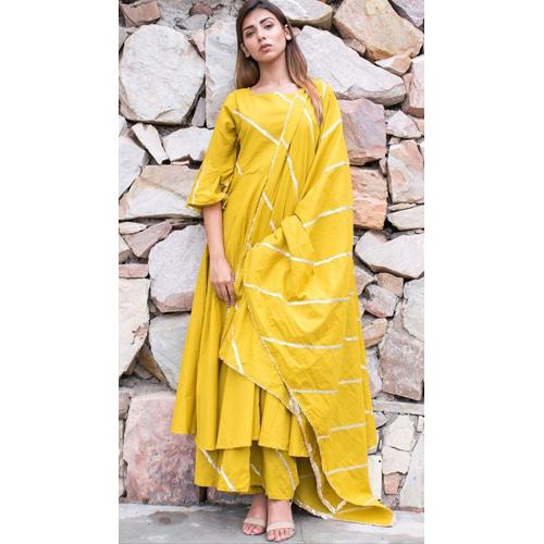 Mustardy Yellow Suit Set