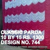 Designer tent parda cloth
