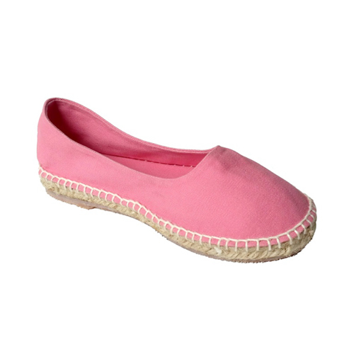 Ladies Pink Color Belly Shoes