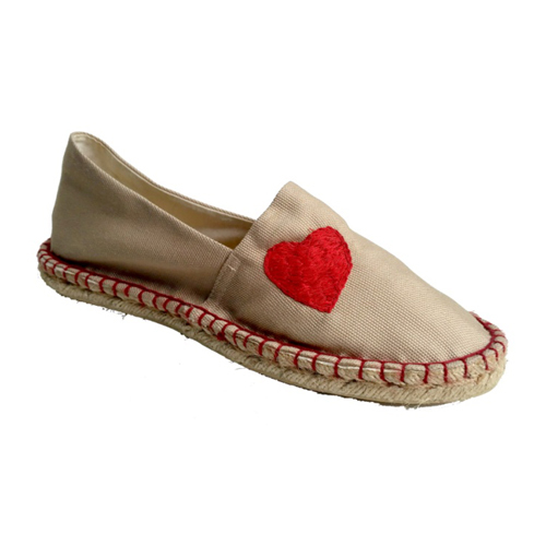 Ladies Embroidery Loafer Shoes