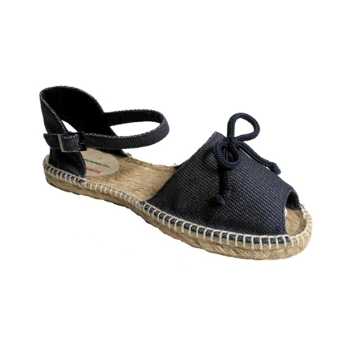 Ladies Navy Blue Sandals
