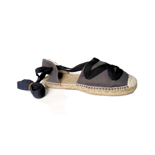 Ladies Navy Blue Flat Sandals
