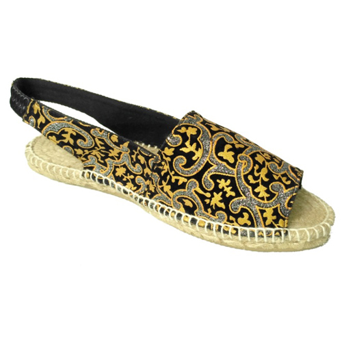 Ladies Printed Flat Sandals