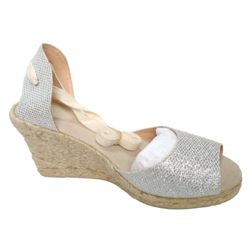 Ladies Sequence Fabrics Sandals