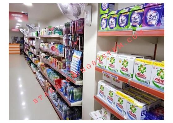 Display Racks for Kirana Store