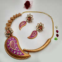Fancy Kundan Necklace Sets