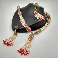 Fancy  Gemstone Necklace set