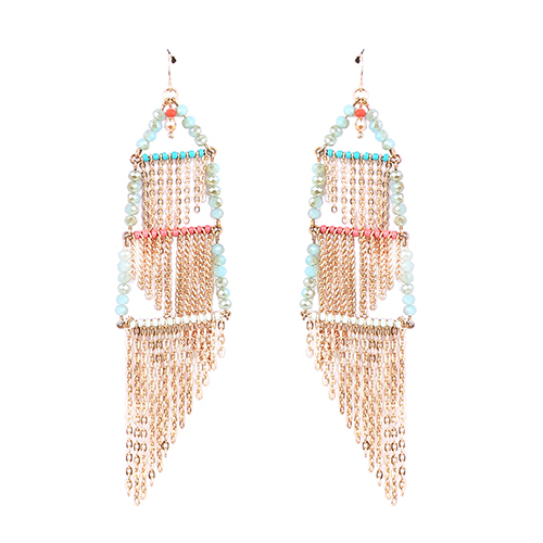 Thread Fashion Earrings