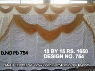 Latest tent cloth ceiling parda