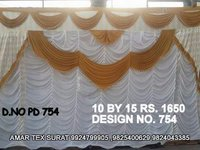 Latest tent cloth ceiling parda