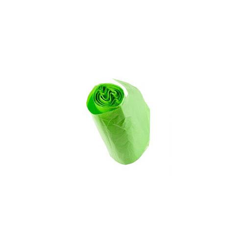 Rolling Green Leaf Plastic Bag For Versatile Purposes