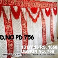 Wedding pandal parda design