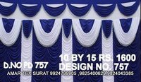 Beautiful tent parda design
