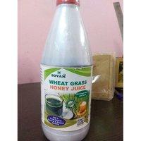 Wheatgrass with Honey Juice