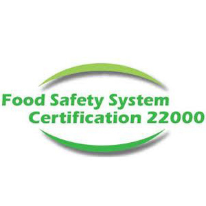 ISO 22000 Food Safety System Certification