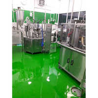 Epoxy Green Color Flooring Paint