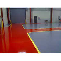 Epoxy Red Color Flooring Paint