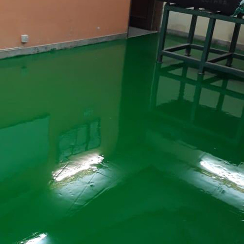 Floor Green Paint Services