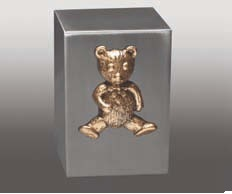 Polished Cube Marble Teddy