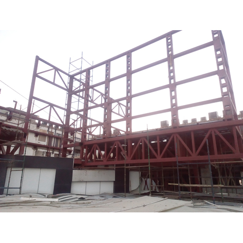 Industrial Steel Fabricated Structure