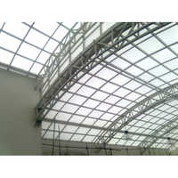 Polycarbonate Roofing Structure