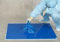 Blue Disposable Sticky Mat