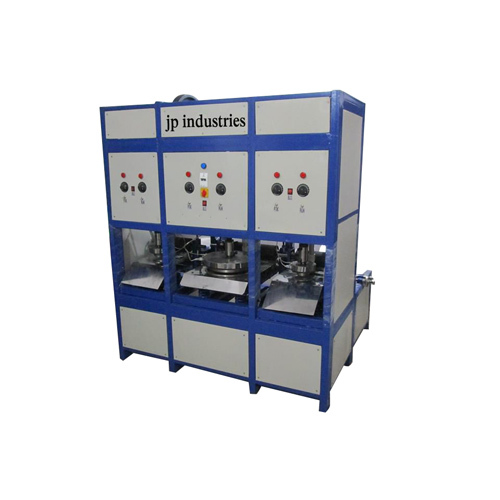 100 JPM Automatic Paper Dona Plate Machine