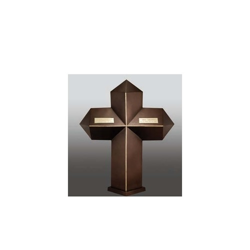 Companion Cross with Two Nameplates