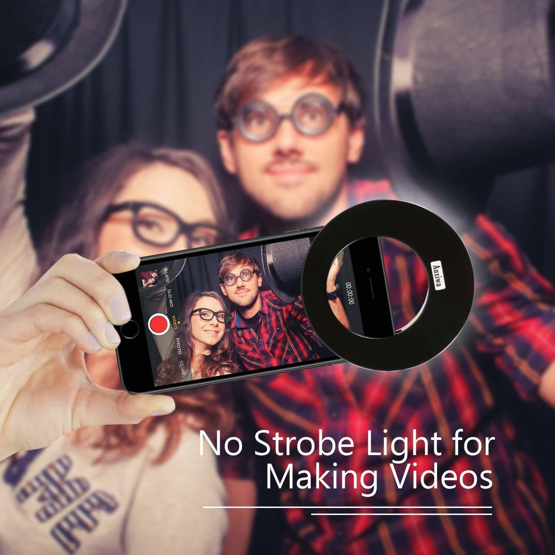 Clip On mobile selfie flash light