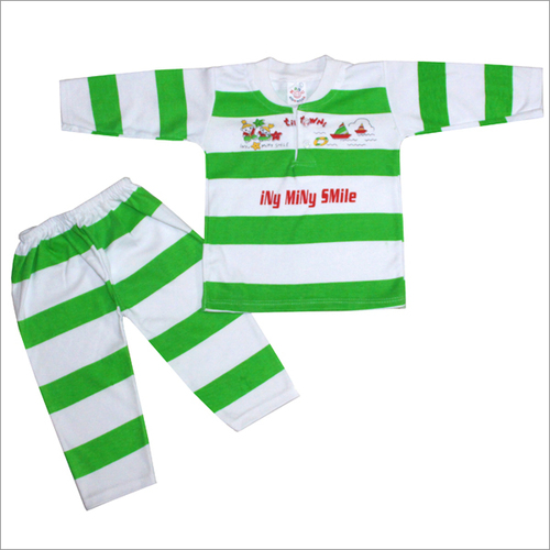 Green Color Baby Suit