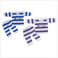 Coloured Strip Baby Suit