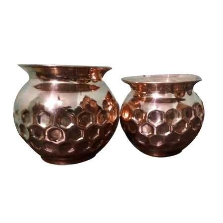 Copper Diamond Lota