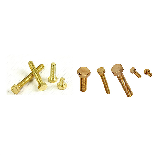Precision Brass Bolt