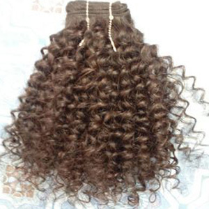 Temple Kinki curly hair extensions