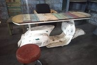 VINTAGE SCOOTER TABLE