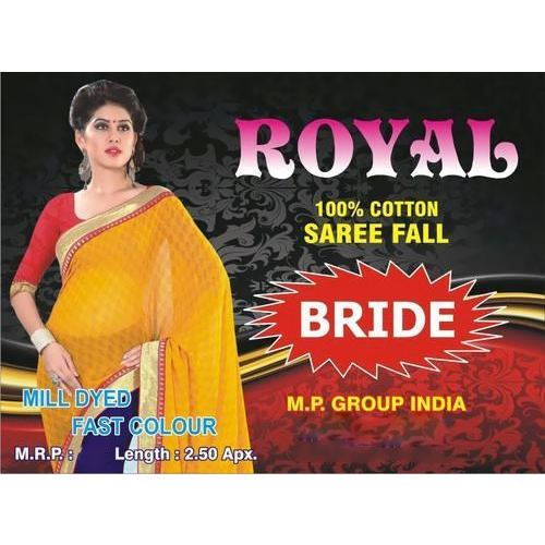 Royal Bride Saree Fall