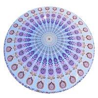 Yoga Mat Bohemian Beach Towel Round Roundie Tapestry