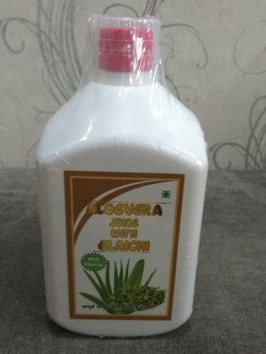 Aloe Vera Juice With Elaichi Flavour