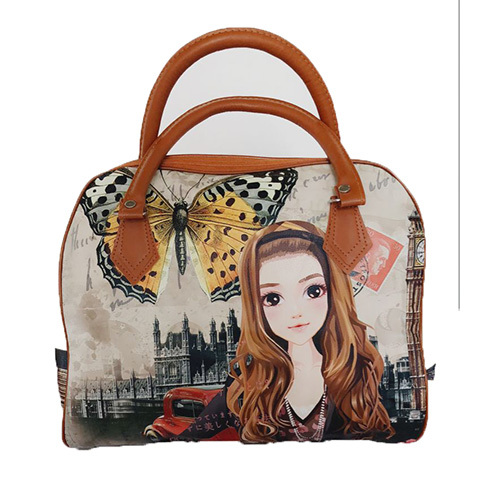 Custom Printed Ladies Strap Shoulder Bag