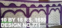 Pandal Parda design cloth