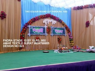 Latest Mandap parda design cloth