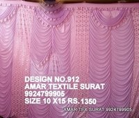 Latest pandal parda fabric