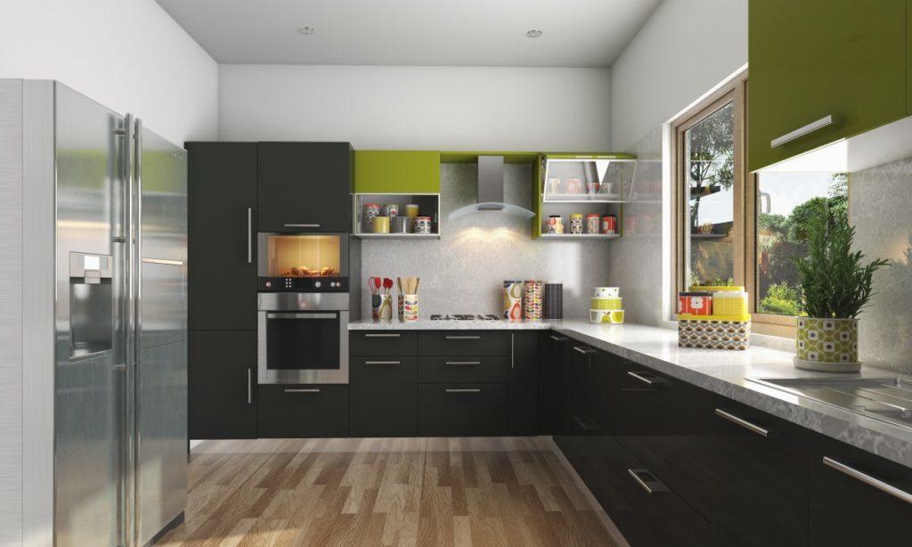 Modular kitchen L Shape